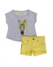 Комплект Losan, Блуза и къси панталони, за момиче