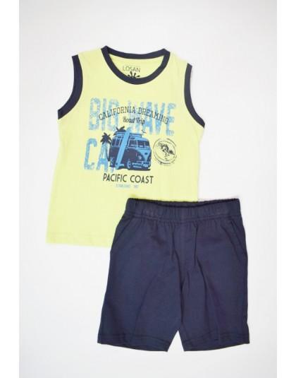 Детски комплект Losan, Потник и къси панталони, за момче