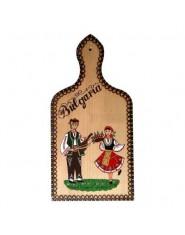 Сувенирна дъска с фолклорни мотиви