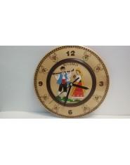 Часовник чиния - пирография